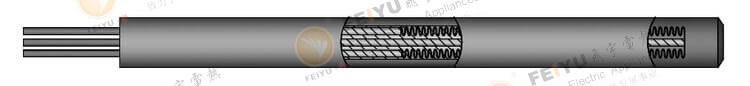 扁形电加热管内部结构五