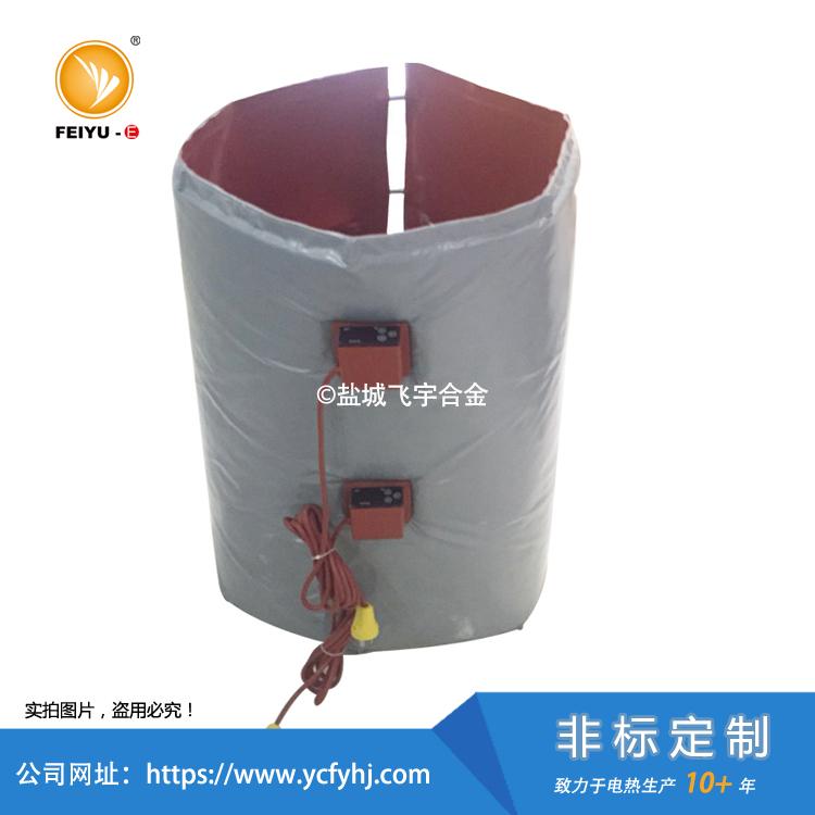 保温套式硅胶加热器根据客户要求选择是否需要加保温套